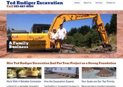 Ted Rudiger Excavation