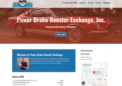 Power Brake Booster Exchange