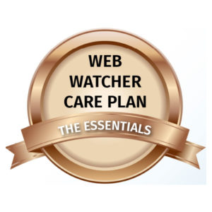 Web Watcher Care Plan