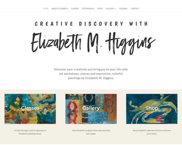 Screenshot_2019-12-31 Creative Discovery Elizabeth M Higgins Watercolor Artist - Elizabeth M Higgins